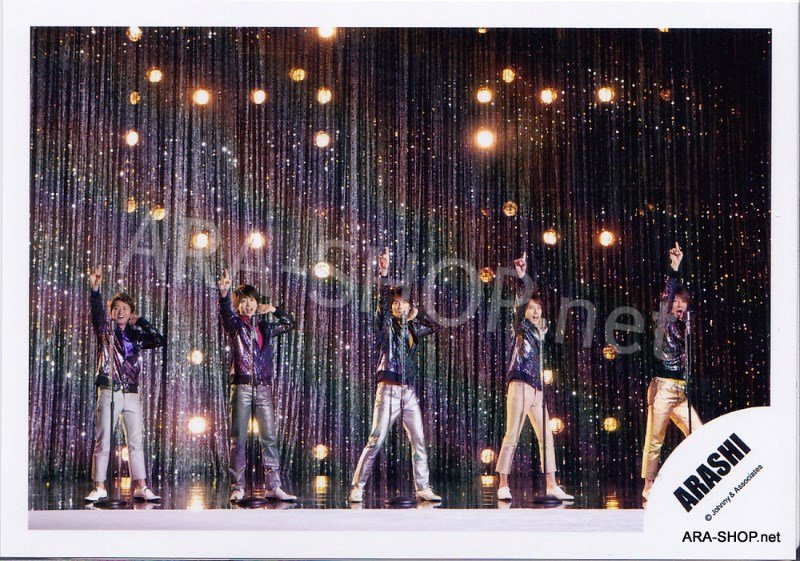 SHOP PHOTO - ARASHI - 2012 Wild at Heart [PV] #379