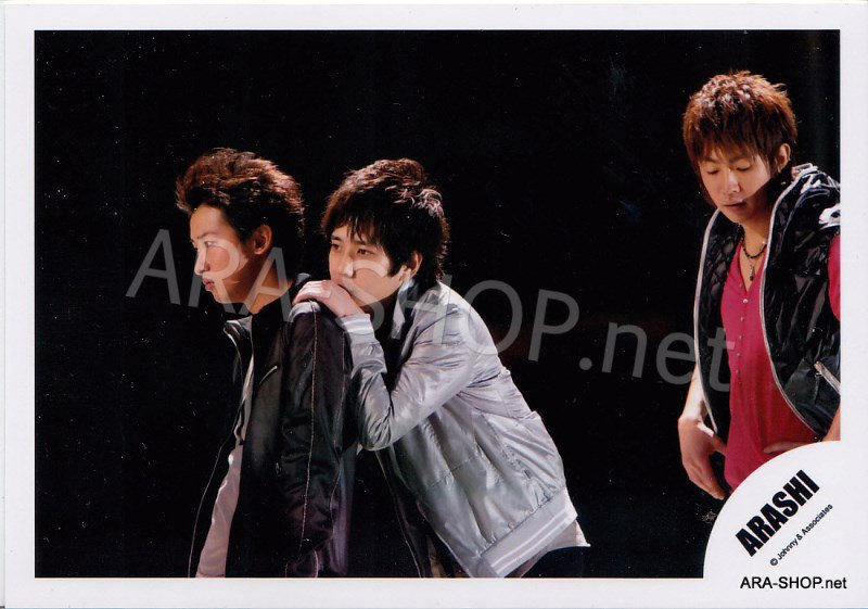 SHOP PHOTO - ARASHI - PAIRINGS - OHMIYA #014