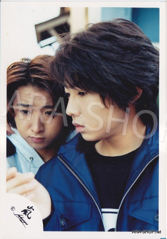 SHOP PHOTO - ARASHI - PAIRINGS - TENNEN PAIR #001