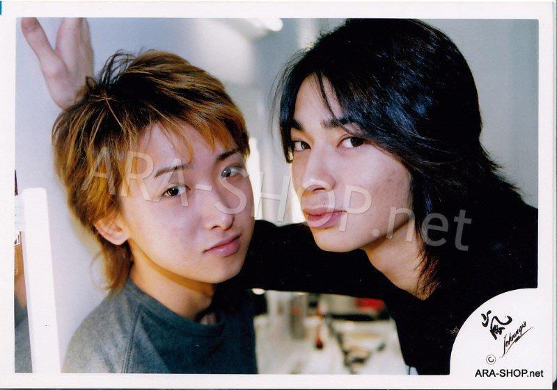 SHOP PHOTO - ARASHI - PAIRINGS - TOSHIUE&SHITA PAIR #001