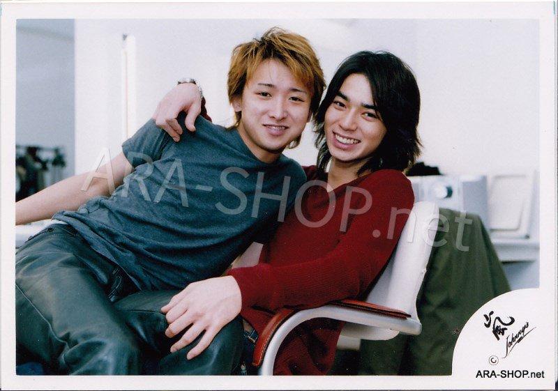 SHOP PHOTO - ARASHI - PAIRINGS - TOSHIUE&SHITA PAIR #002