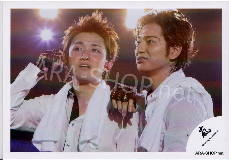 SHOP PHOTO - ARASHI - PAIRINGS - TOSHIUE&SHITA PAIR #015