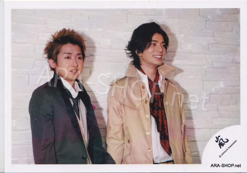 SHOP PHOTO - ARASHI - PAIRINGS - TOSHIUE&SHITA PAIR #016