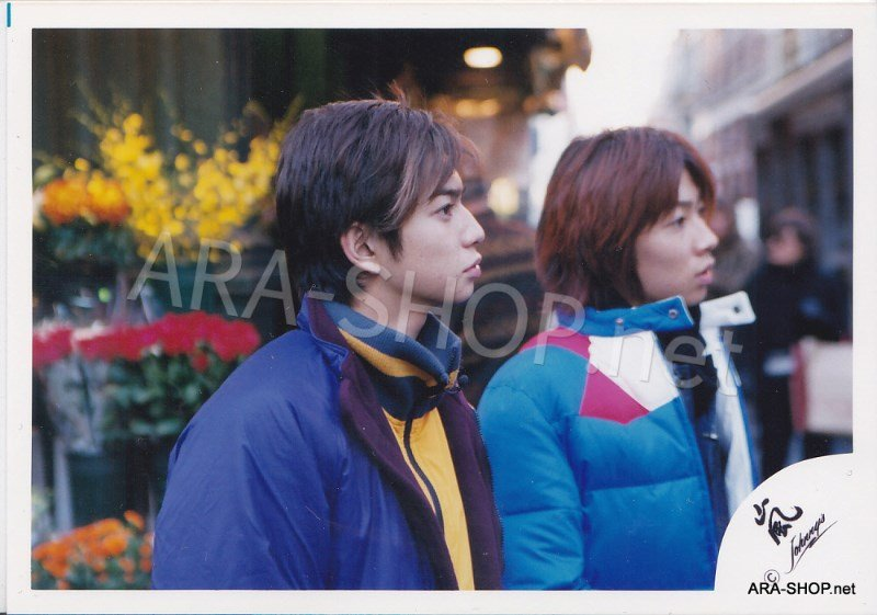 SHOP PHOTO - ARASHI - PAIRINGS - CRYBABY PAIR #005