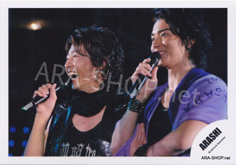 SHOP PHOTO - ARASHI - PAIRINGS - CRYBABY PAIR #018
