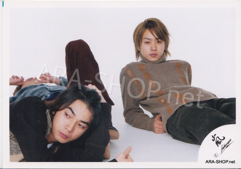 SHOP PHOTO - ARASHI - PAIRINGS - BAMBI PAIR #003