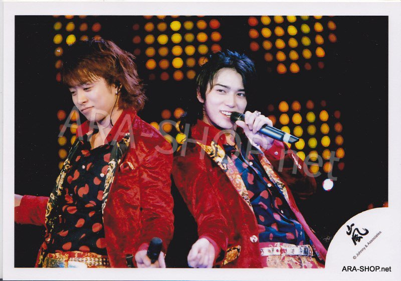 SHOP PHOTO - ARASHI - PAIRINGS - BAMBI PAIR #007