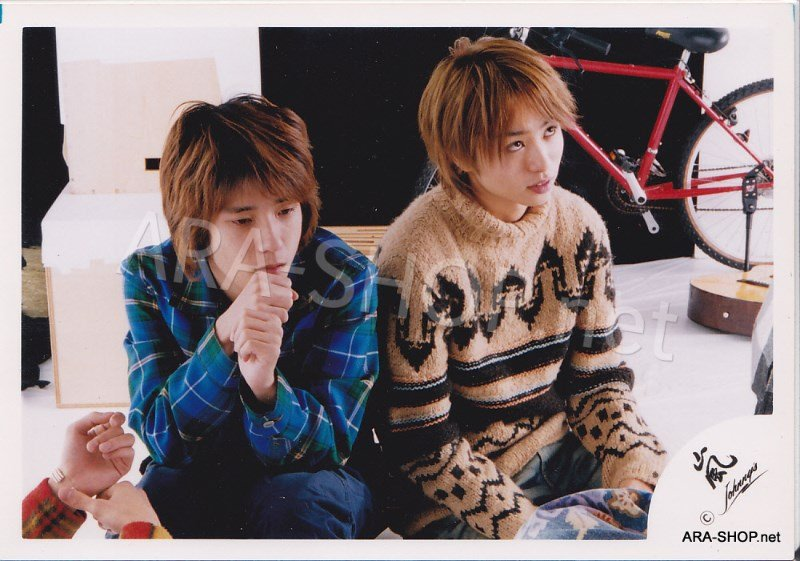 SHOP PHOTO - ARASHI - PAIRINGS - SAKUMIYA #015