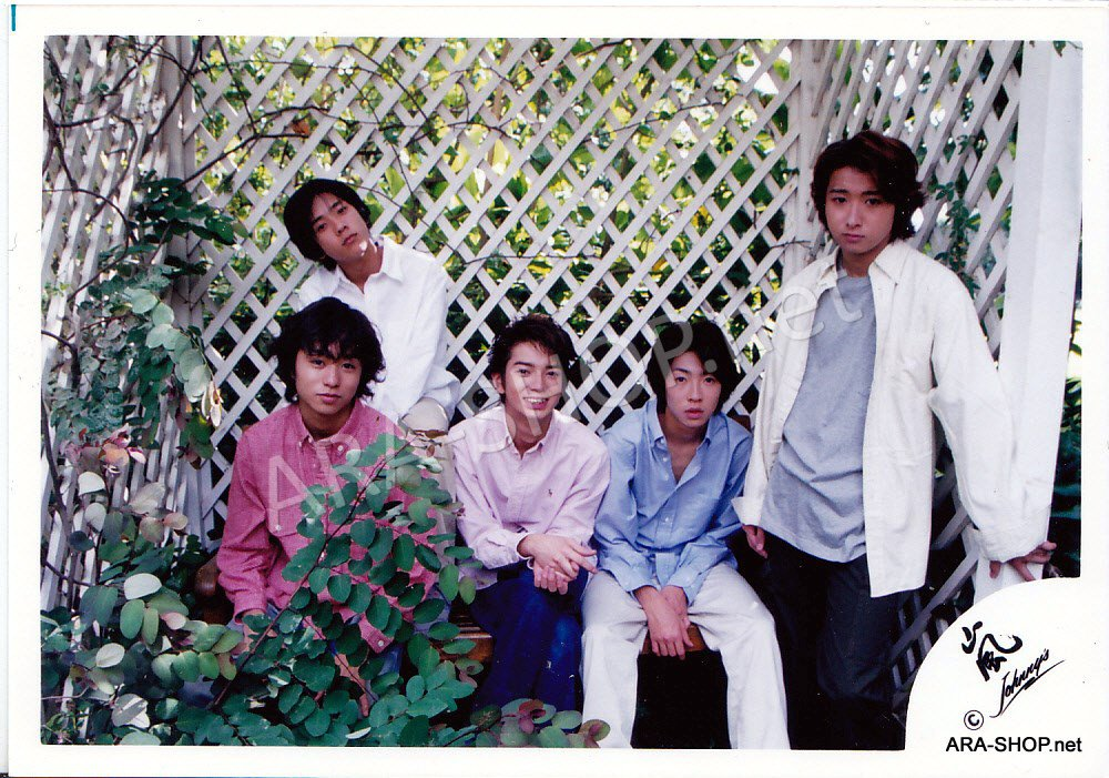 SHOP PHOTO - ARASHI - GROUP & MIX #092