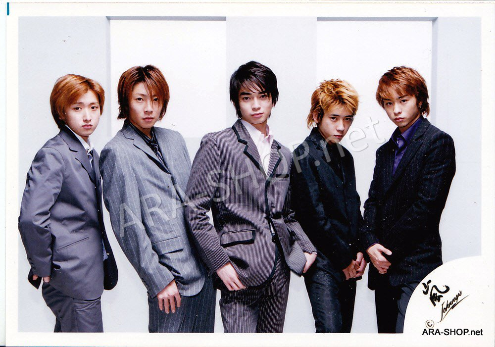 SHOP PHOTO - ARASHI - 2001 ~ 2002 JOIN THE STORM #142