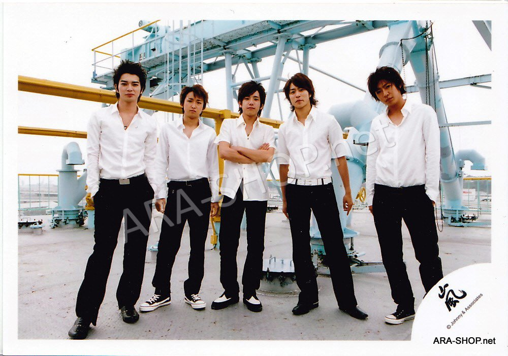 SHOP PHOTO - ARASHI - 2005 ONE #224