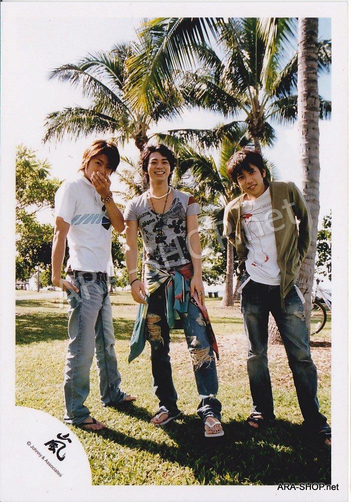 SHOP PHOTO - ARASHI - 2006 in Hawaii (Aiba, Nino, Jun) #248