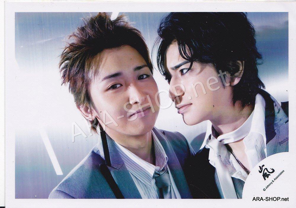 SHOP PHOTO - ARASHI - PAIRINGS - TOSHIUE&SHITA PAIR #012
