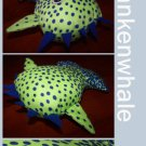 Frankenwhale the Happy Whale + Paper Gift Wrap