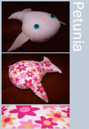 Petunia the Happy Whale + Cellophane Gift Wrap