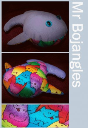 Mr Bojangles the Happy Whale + Cellophane Gift Wrap