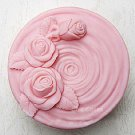 Rose Soap Mold Silicone Mold Jelly Mold Cake Mold