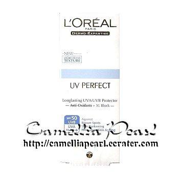 Loreal UV Perfect Longlasting UVA/UVB Protector SPF50 (Transparent Skin) 30ml