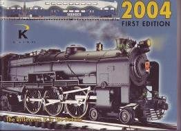 K-LINE 2004 Toy Railroad RR Train Elec Trains Catalog