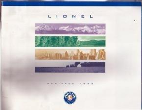 Lionel 1999 Electric Toy RR Model Trains Catalog
