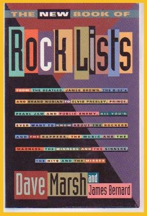 NEW ROCK LISTS ROCK & ROLL MUSIC Trivia Reference Book