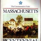 MASSACHUSETTS MA 1975 Guide Book Bicentennial History