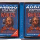 STAR TREK AUDIOBOOK Next Generation Kahless 2 Cassettes