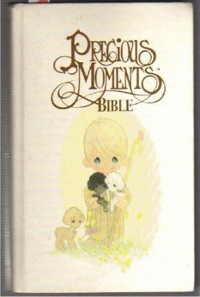 CHILDS BIBLE KING JAMES PRECIOUS MOMENTS BABY KEEPSAKE