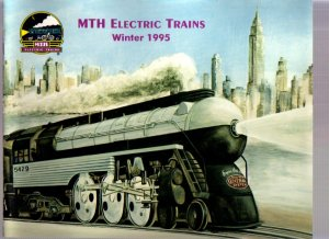 Winter 1995 M.T.H. MTH Electric Toy RR Model Trains Catalog