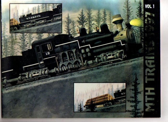 Vol 1 1997 M.T.H. MTH  Electric Toy RR Model Trains Catalog