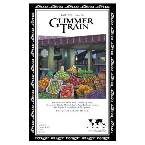 GLIMMER TRAIN STORIES 36 Fall 2000 ISBN 1880966352 Literary Journal Fiction Short Stories Authors