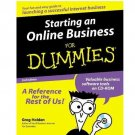 Starting an Online Business for Dummies by Greg Holden ISBN 0764506889 978-0764506888