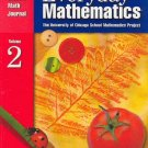 Everyday Mathematics Student Math Journal 2 ISBN 1570398224 Grade 1 Free Shipping