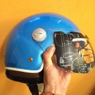 NEW Speedracer/Vintage Style XPeed XF207 - Size XL - Helmet in Sky Blue