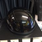 Childs Novelty Half Helmet - Black Medium