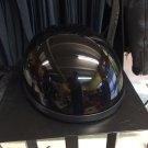 Childs Novelty Half Helmet - Black Large