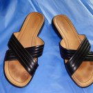 EUC - TIMBERLAND Black Genuine Leather Strappy Sandals/Shoes - Size 8M