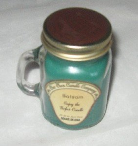 "OUR OWN CANDLE COMPANY ""BALSAM"" 3.5 Oz Jar - 25-30 Hours Burn Time - NEW"