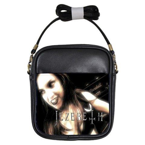 Jezebeth Leather Sling Bag