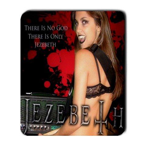Jezebeth Large Mousepad Red