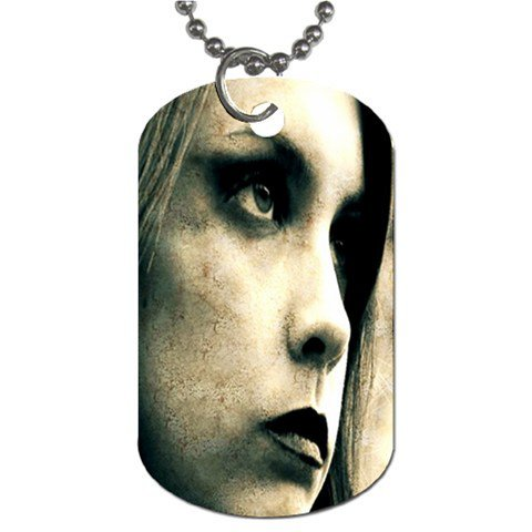 Jezebeth 2 Sided Dog Tag and Chain