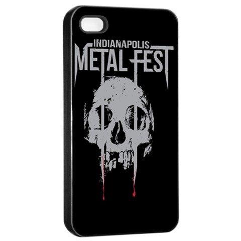 Indianapolis Metal Fest iphone 4 Seamless Case Black