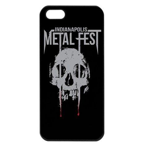 Indianapolis Metal Fest iphone 5 Seamless Case Black