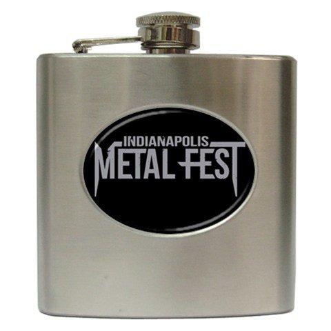 Indianapolis Metal Fest Hip Flask 6 oz