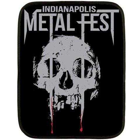 Indianapolis Metal Fest Two Sided Fleece Blanket