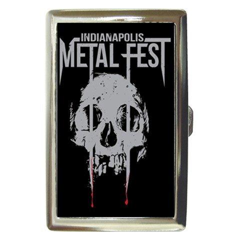 Indianapolis Metal Fest Cigarette Money Case