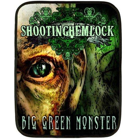 Shooting Hemlock Two Sided Fleece Blanket