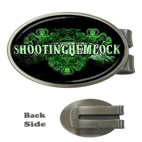 Shooting Hemlock Oval Money Clip