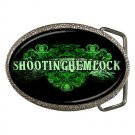 Shooting Hemlock Belt Buckle