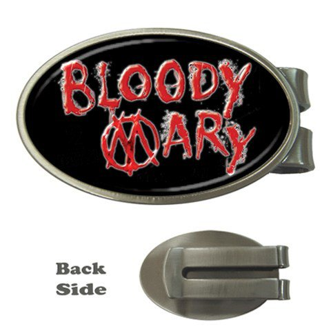 Bloody Mary Oval Money Clip